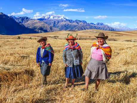 Despite not getting to Machu Picchu, or its picturesque surrounds such as the Sacred Valley of the Incas or Urubamba Valley, the traveller kept their cool.