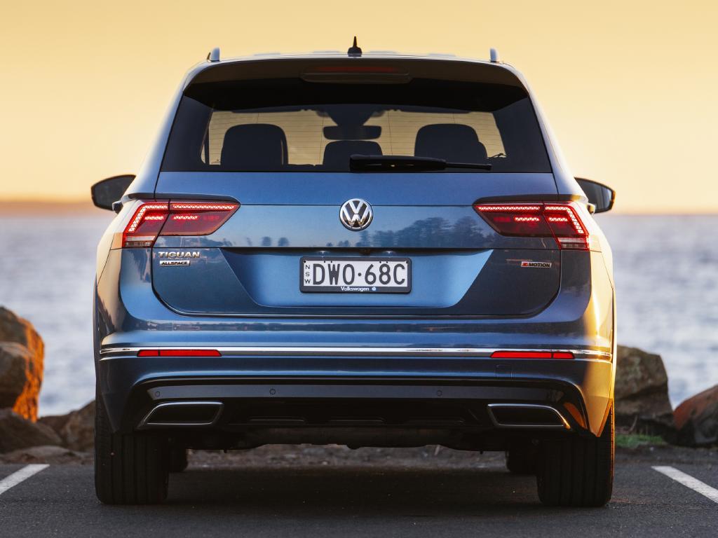 Photo of the 2018 Volkswagen Tiguan Allspace