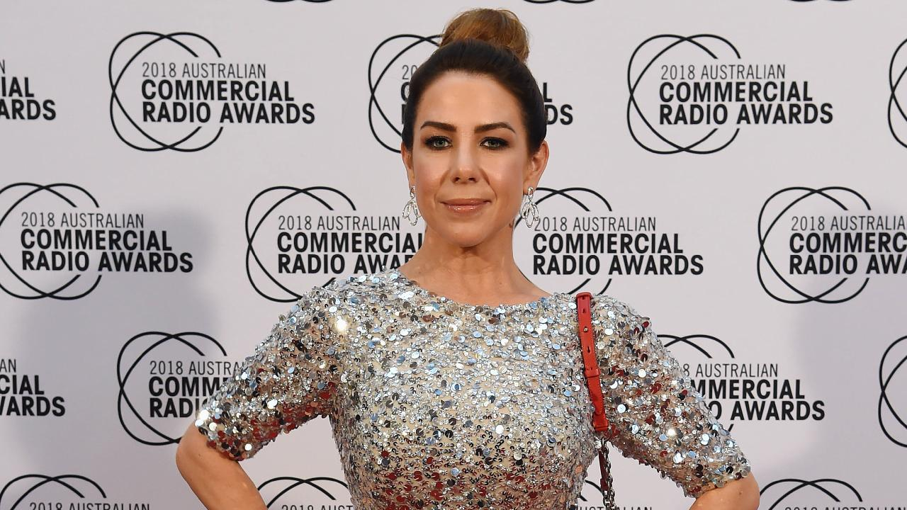 Kate Ritchie has broken down in tears after winning an Australian Commercial Radio Award on her own. Picture: Lawrence Pinder