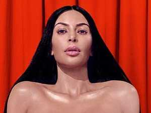 Kim Kardashian strips off for erotic shoot