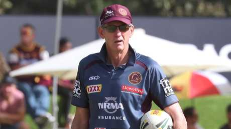 Wayne Bennett will coach on with the Broncos next season. Picture: Annette Dew