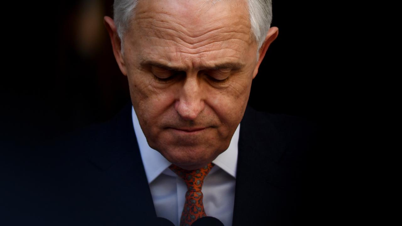 The spectre of Malcolm Turnbull is hanging over the Wentworth by-election. Pic: AAP