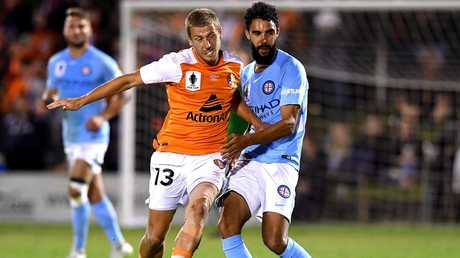 Stefan Mauk looks a good fit for the Roar. (Bradley Kanaris/Getty Images)