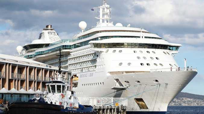 Man tried to throw partner off a cruise ship