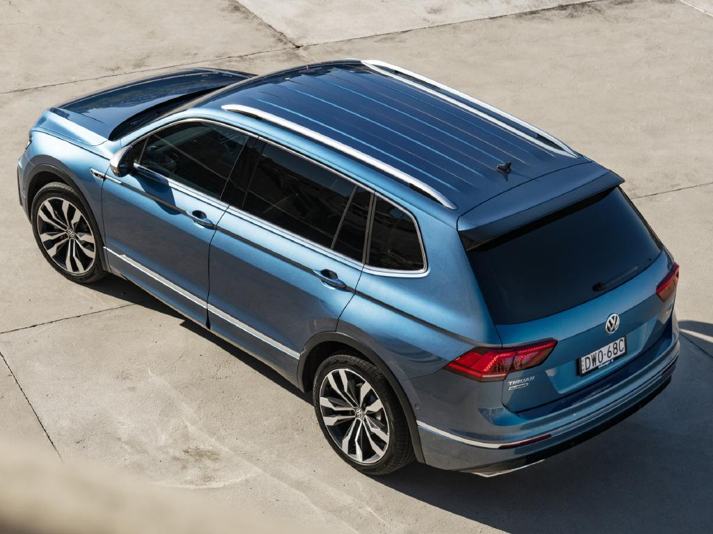 Tiguan Allspace: Up to 2m of boot space yet room for luggage with third row in use