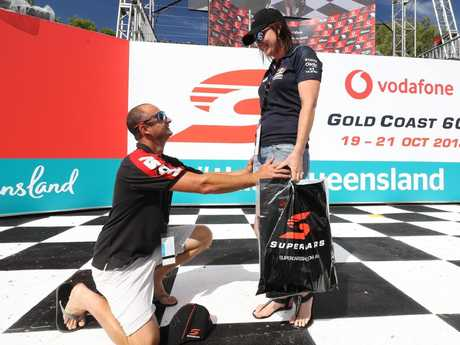 Supercars Gold Coast 600 Day 1: A marriage proposal