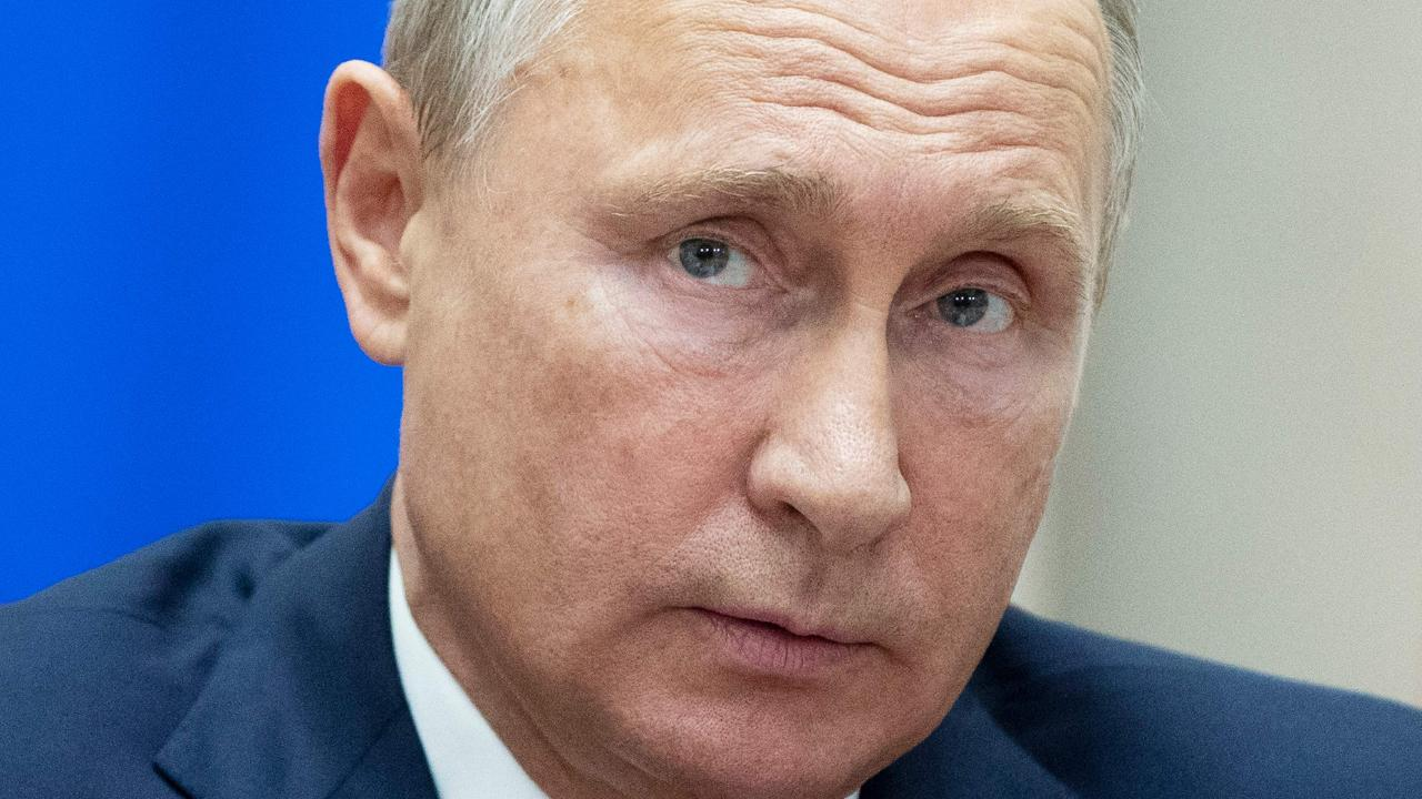 Russian President Vladimir Putin has warned that ISIS was again active in Syria and took 700 hostages from a camp but the US disputes his claims. Picture: Pavel Golovkin/Pool/AFP