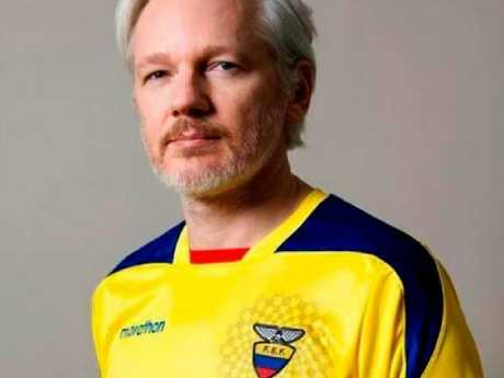 Julian Assange's relationship with Ecuador is quickly deteriorating. Picture: Supplied