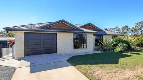 The median house price at Benaraby is on the way up. This home at 16 Hennie Drive, Benaraby is listed for $539,000. Picture: realestate.com.au