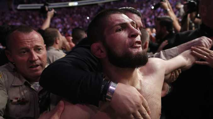 Khabib Nurmagomedov's manager said he and Conor McGregor should be suspended.