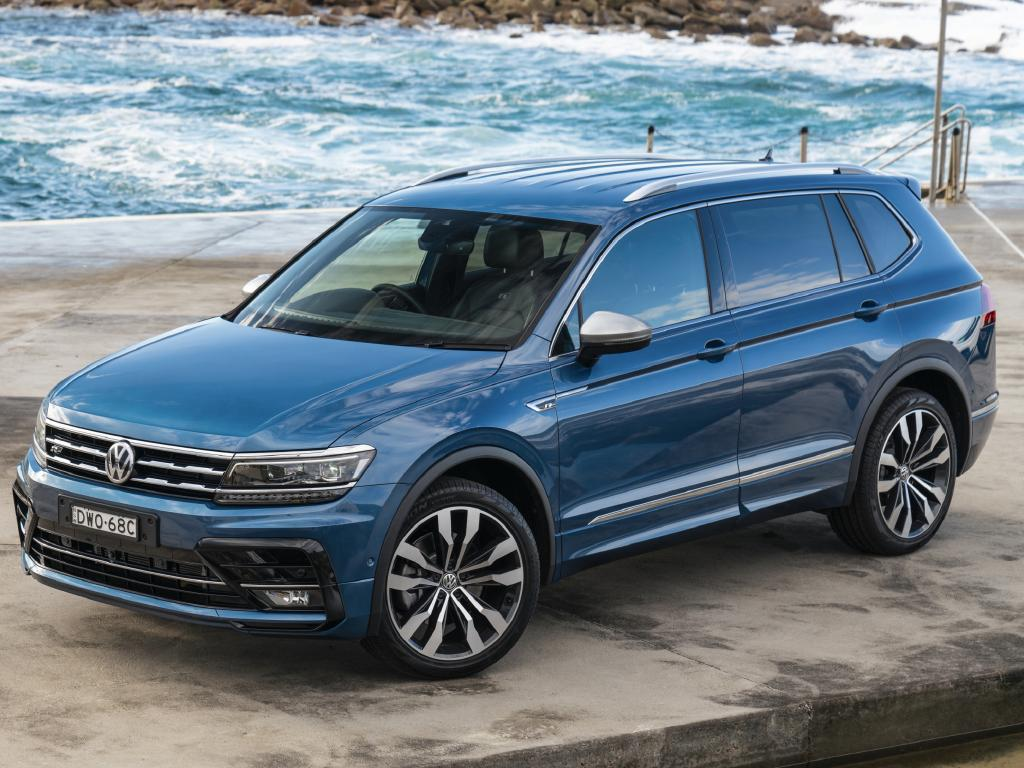 2018 VW Tiguan Allspace: Longer than five-seater and similar to related Skoda Kodiaq