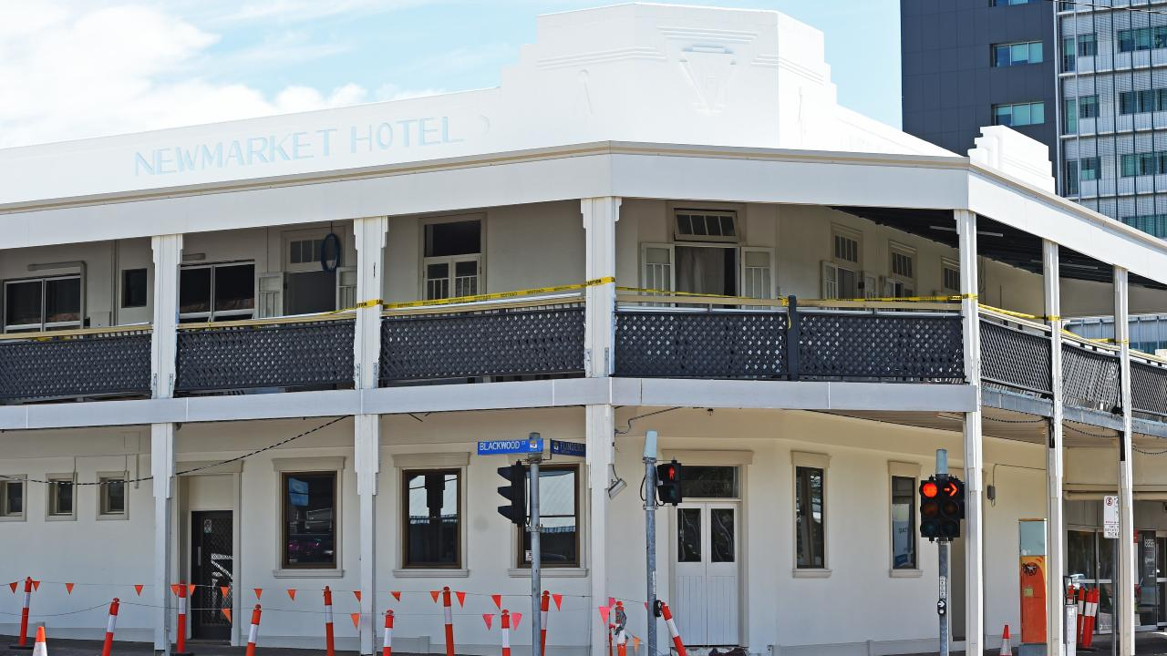 The Newmarket Hotel on Flinders. Picture: Zak Simmonds