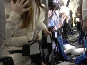 Flight from hell leaves passengers bloodied