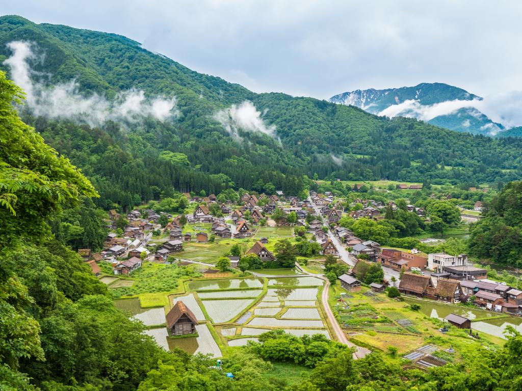 Consider staying in local hotels in lesser known areas (like Gokayama, Japan) in order to make sure your money is being fed back into the local economy.