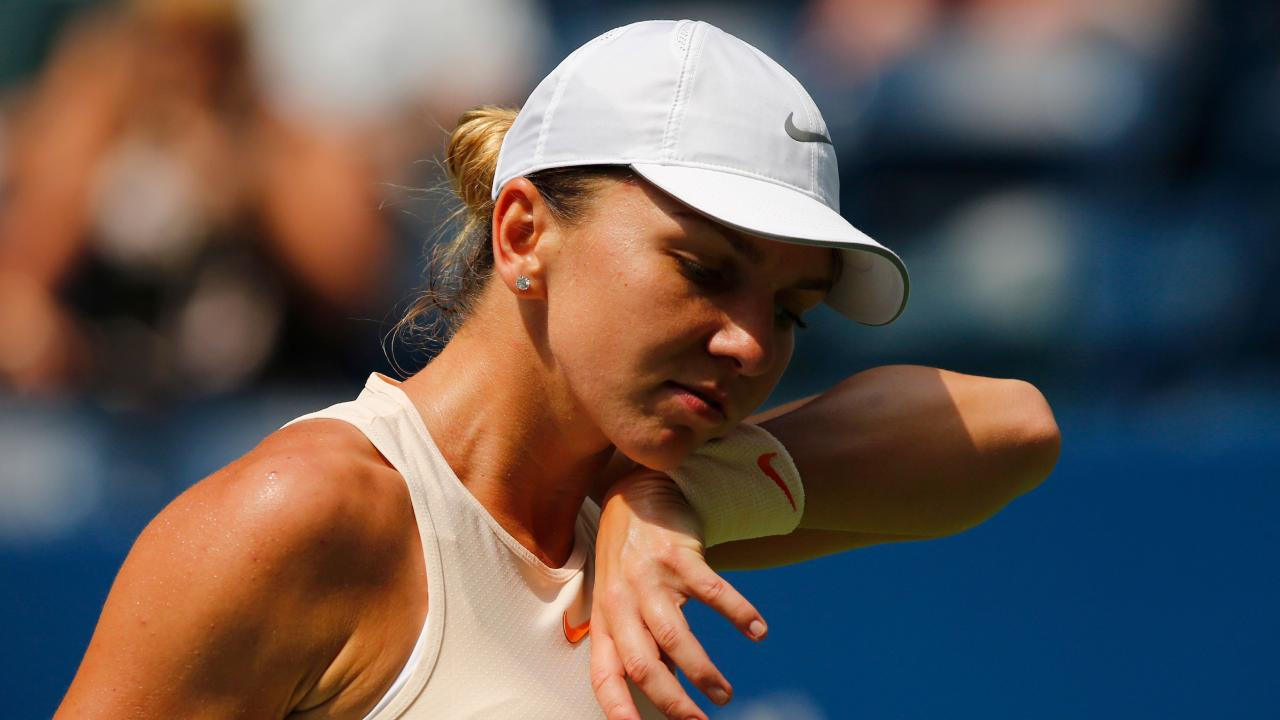 Simona Halep is in the sights of Brisbane International organisers. Picture: AFP