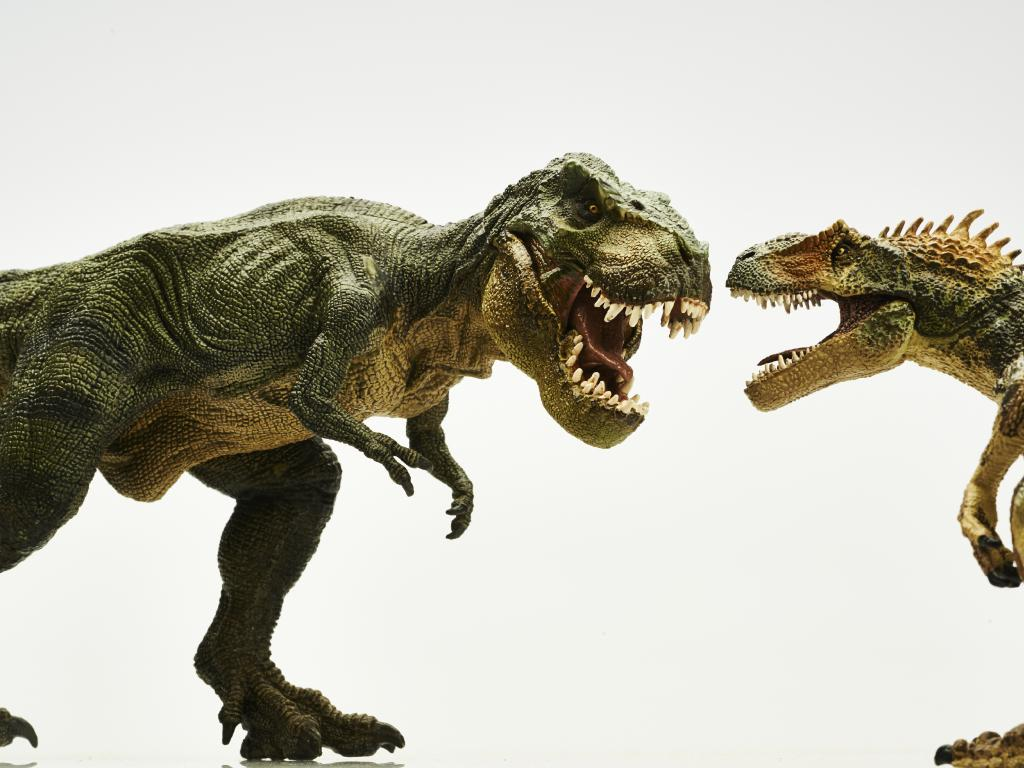 With short arms the Tyrannosaurus rex could position its prey perfectly to reach its terrifyingly powerful jaws. Picture: iStock