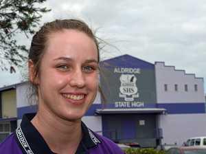Aldridge State High School student, volleyball player