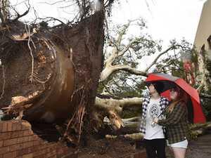 Storm hits Toowoomba