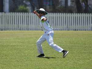 Junior Cricket - Maryborough (Batting) v Brumbies