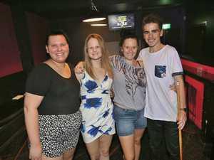 L-R Zoe Farlow, Tayla Ruddy, Raelene Cappin and Jacob