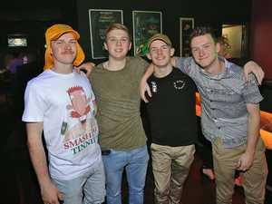 L-R Lewis Bartlem, Ben Hamilton, Tyler Webster-Scott