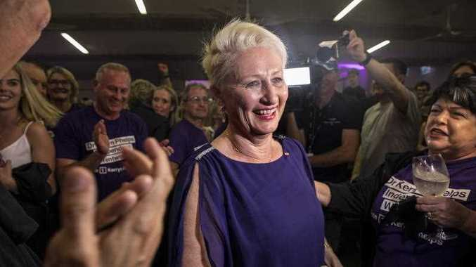 Phelps wins Wentworth: Liberal heartland in open rebellion