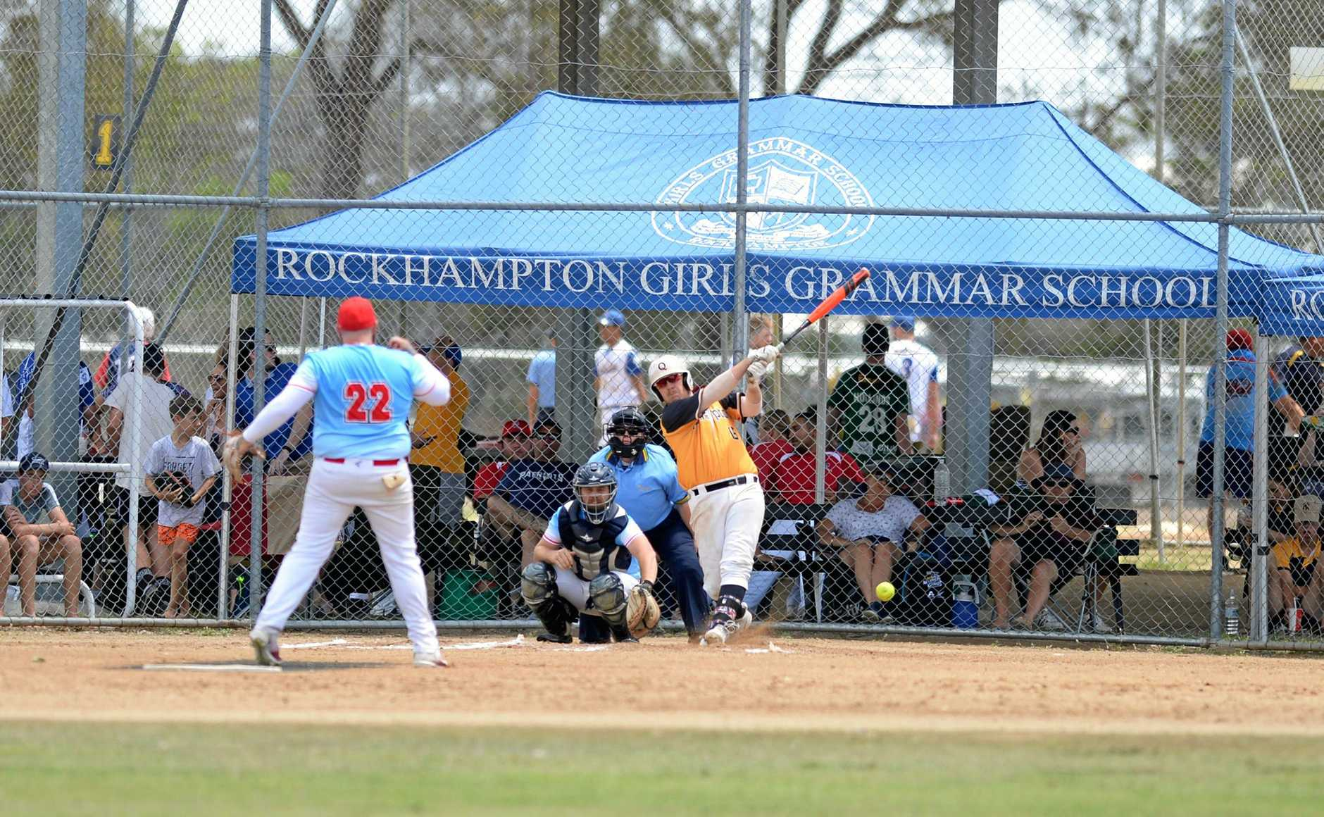 softball: Rockhampton A, Brock Findlay.