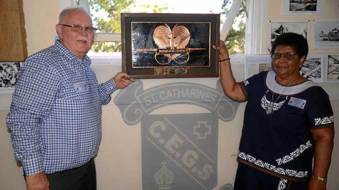 Life membership presented at St Catharine's centenary
