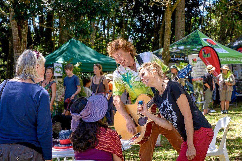 Big Scrub Rainforest Day, entertainment.