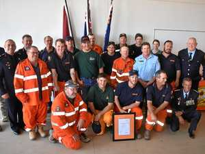 SES heroes thanked for tireless service