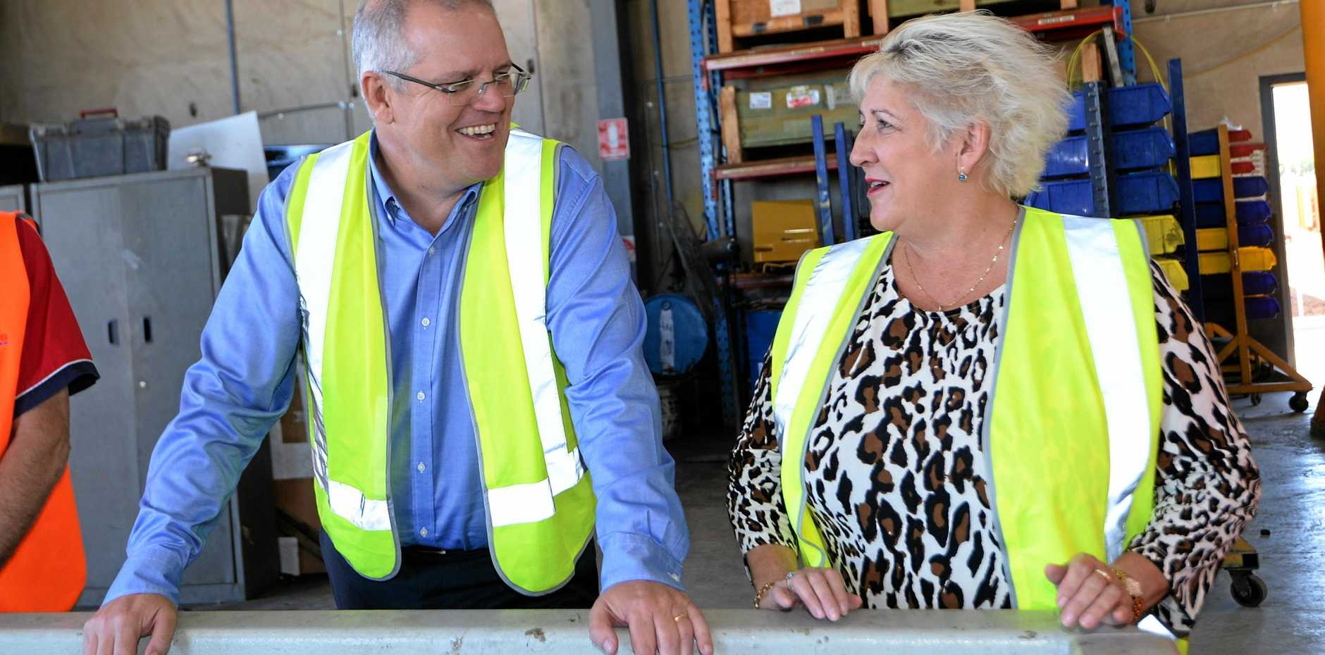 TROUBLED TIMES: The Liberal Party's poor showing in the Wentworth by-election has Prime Minister Scott Morrison and Capricornia MP Michelle Landry looking for answers.