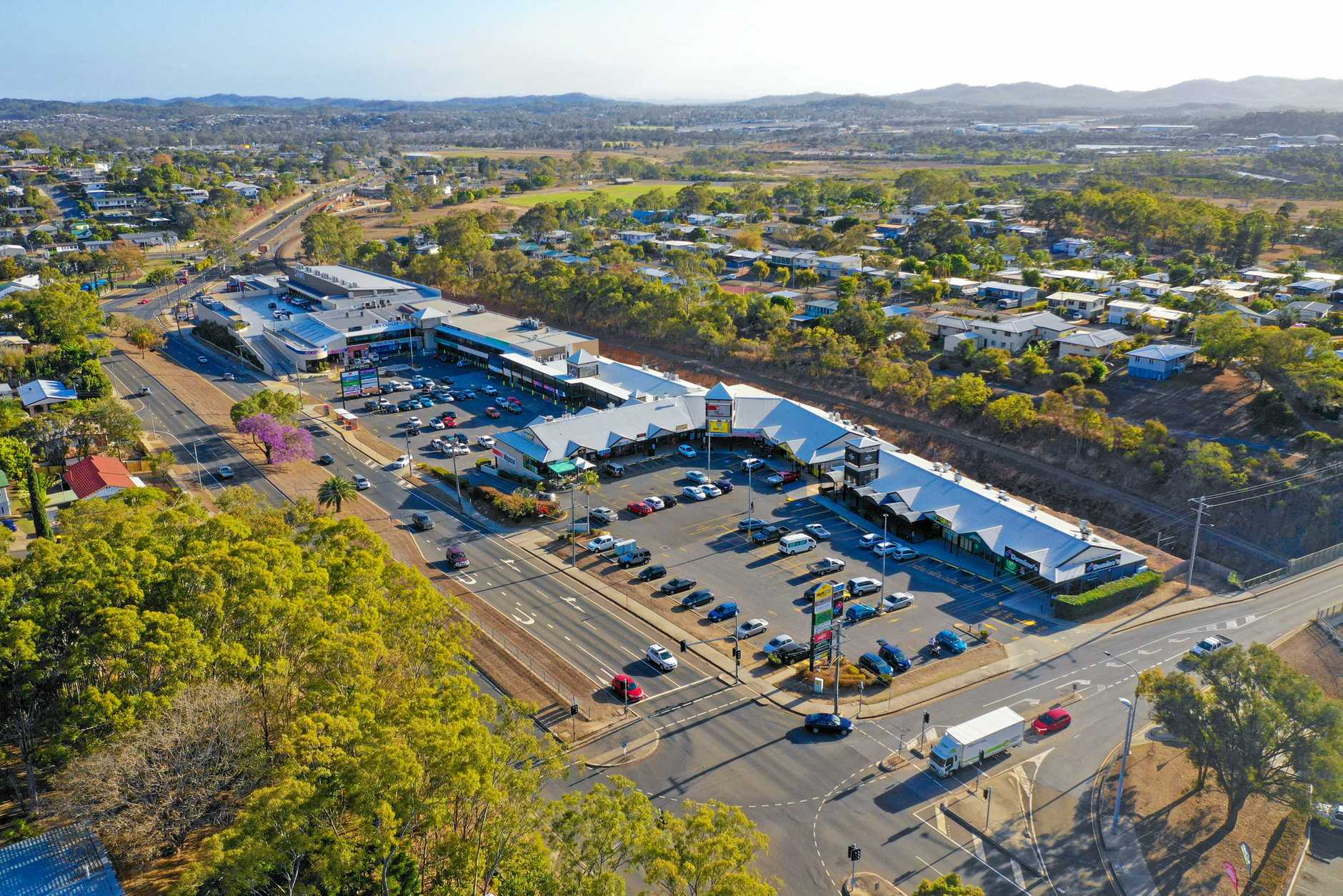 Gladstone Central, also known as the Night Owl, shopping centre is on the market.