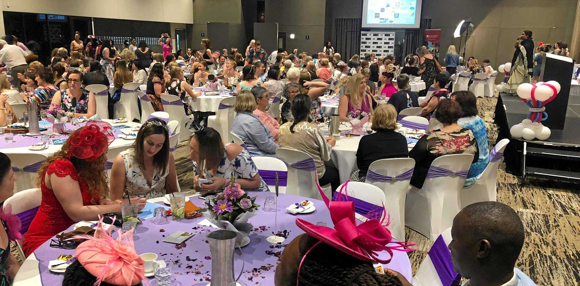 SECOND CHANCE: Restore More hosted a successful fundraiser to help Gladstone women and their cancer recovery on Saturday.