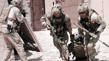 """Voodoo Medics are """"there to save lives. There are not many other jobs like them in the military,"""" says Victoria Cross recipient Mark Donaldson."""