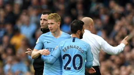 Manchester City welcomed back Kevin De Bruyne from injury overnight