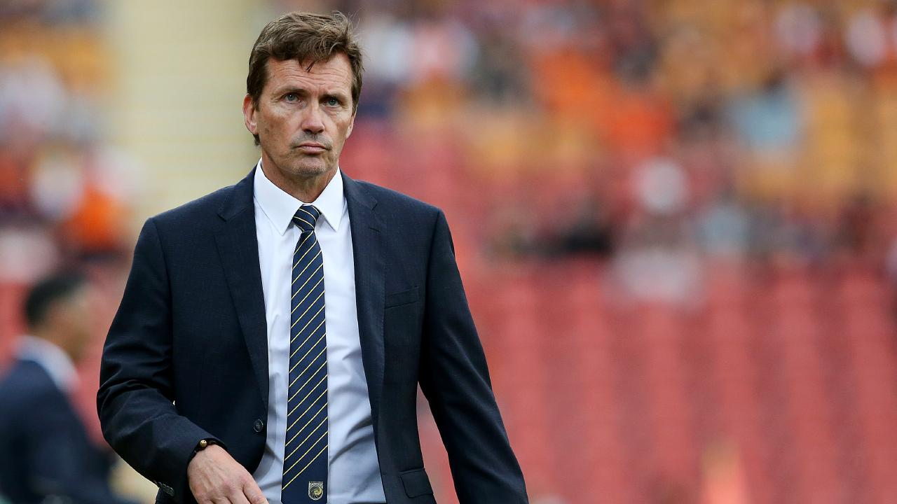Mariners coach Mike Mulvey returned to Suncorp. Picture: Getty