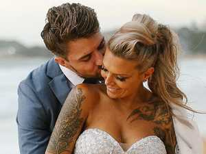 Ex's wedding day swipe at NRL star