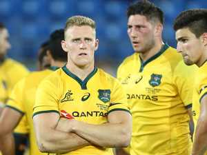 Bledis-blow: Ankle break for Wallabies star