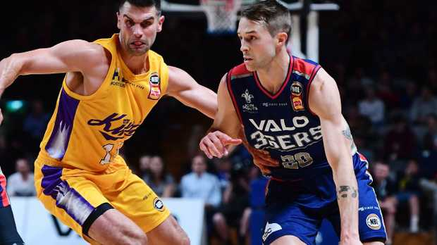 Nathan Sobey of the Adelaide 36ers is among the stars of the league.