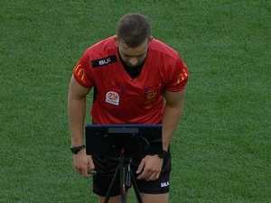 Referees labelled real villains in VAR farce
