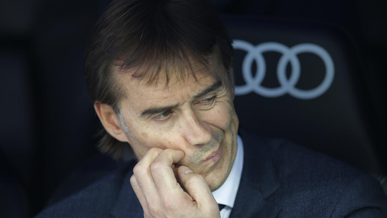 Real Madrid sack manager Julen Lopetegui after 14 matches in charge.