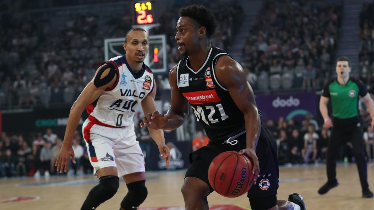 Casper Ware struggled with his shot early. Picture: David Crosling