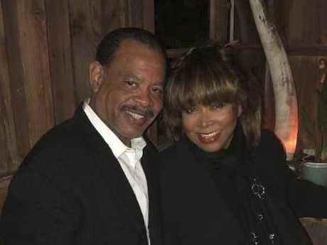 Tina Turner with her son Craig, who tragically took his life. Picture: Supplied