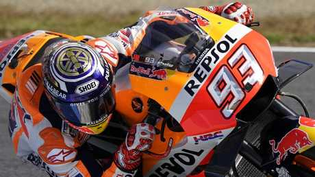 Marc Marquez is on track to smash records.
