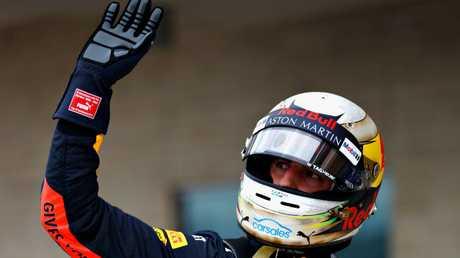 Daniel Ricciardo will start from fourth. Picture: Getty.