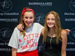 Brielle Lett, 13, competed with support from her