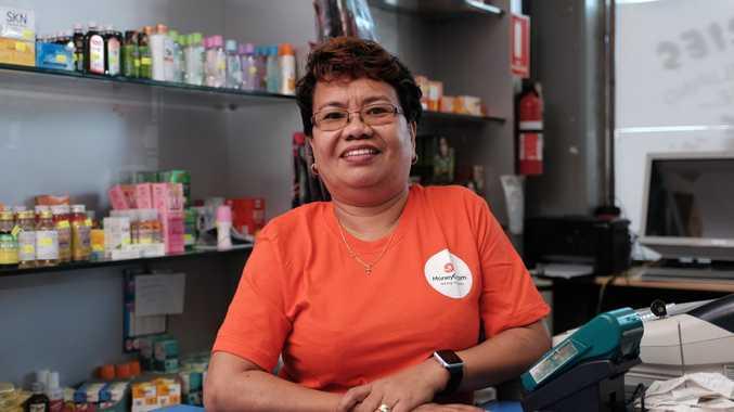Rita Clarke, owner of J and R Asian Groceries