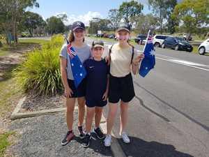 Royal Visit - 14yo Rachel , 9yo Hayden, and 13yo