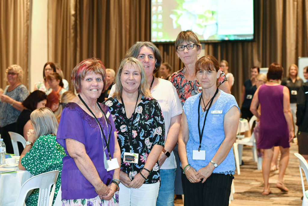Karen Pope, Debbie Eborn, Kathy Roberts, Kay Drew and Jan Campbell helped organise the Teacher Aide Professional Development Day.