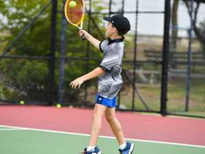 Max Ferguson 8.Student Free Day Tennis juniors